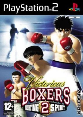 Copertina del gioco Victorious Boxers 2 Fighting Spirit per Playstation 2