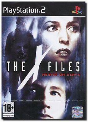 Copertina del gioco X-Files: Resist or Serve per Playstation 2