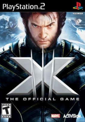Copertina del gioco X-Men Il Gioco Ufficiale per Playstation 2