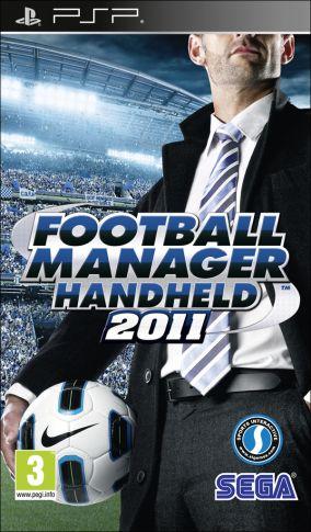 Copertina del gioco Football Manager Handheld 2011 per Playstation PSP