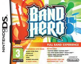 Copertina del gioco Band Hero per Nintendo DS