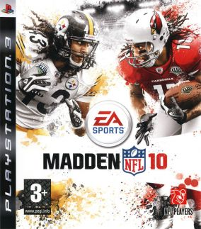 Copertina del gioco Madden NFL 10 per Playstation 3