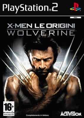Copertina del gioco X-Men - Le Origini: Wolverine per Playstation 2