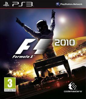 Copertina del gioco F1 2010 per Playstation 3
