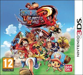 Copertina del gioco One Piece Unlimited World Red per Nintendo 3DS