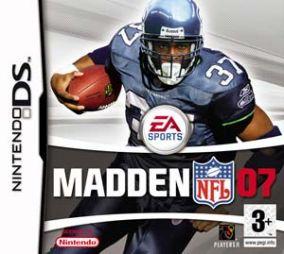 Copertina del gioco Madden NFL 07 per Nintendo DS