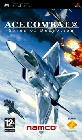 Copertina del gioco Ace Combat X: Skies of Deception per Playstation PSP