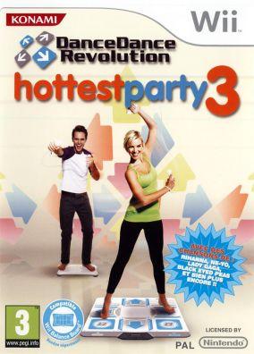 Copertina del gioco Dance Dance Revolution Hottest Party 3 per Nintendo Wii