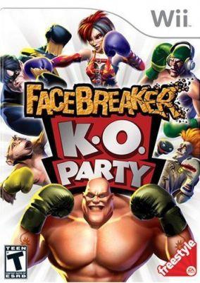 Copertina del gioco Facebreaker KO Party per Nintendo Wii