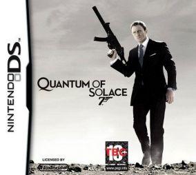 Copertina del gioco James Bond: Quantum of Solace per Nintendo DS