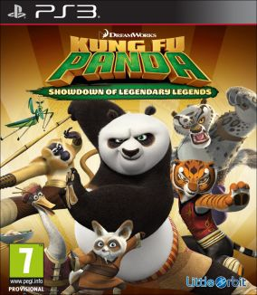 Copertina del gioco Kung Fu Panda: Scontro finale delle leggende leggendarie per Playstation 3