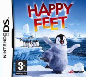 Copertina del gioco Happy Feet per Nintendo DS