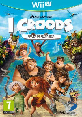 Copertina del gioco I Croods: Festa Preistorica per Nintendo Wii U