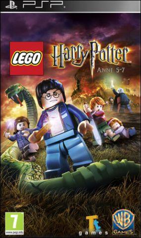 Copertina del gioco LEGO Harry Potter: Anni 5-7 per Playstation PSP