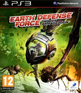 Copertina del gioco Earth Defense Force: Insect Armageddon per Playstation 3