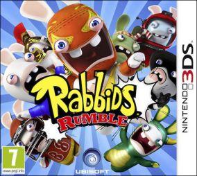 Copertina del gioco Rabbids Rumble per Nintendo 3DS
