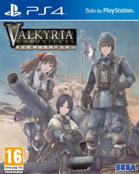 Copertina del gioco Valkyria Chronicles Remastered per Playstation 4