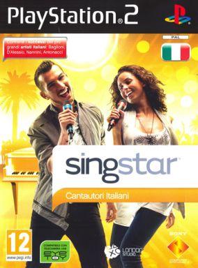 Copertina del gioco Singstar Cantautori italiani per Playstation 2