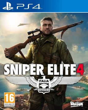 Copertina del gioco Sniper Elite 4 per Playstation 4