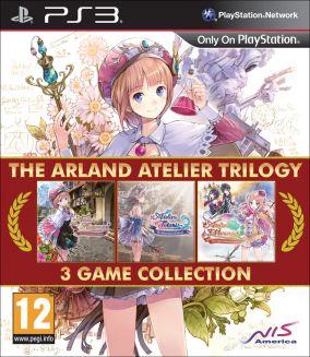 Copertina del gioco The Arland Atelier Trilogy per Playstation 3