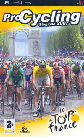 Copertina del gioco Pro Cycling Manager - Tour De France 2007 per Playstation PSP