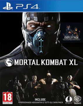 Copertina del gioco Mortal Kombat XL per Playstation 4