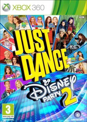 Copertina del gioco Just Dance: Disney Party 2 per Xbox 360