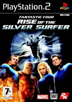 Copertina del gioco I Fantastici 4 The Rise of Silver Surfer per Playstation 2