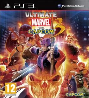 Copertina del gioco Ultimate Marvel vs. Capcom 3 per Playstation 3