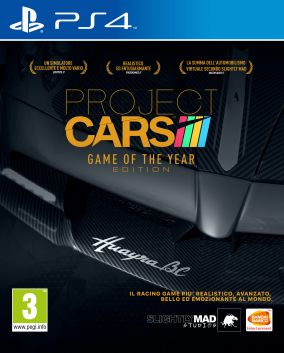 Copertina del gioco Project CARS Game Of The Year Edition per Playstation 4