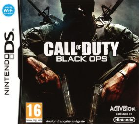 Copertina del gioco Call of Duty Black Ops per Nintendo DS