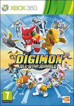 Copertina del gioco Digimon All-Star Rumble per Xbox 360