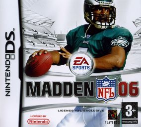 Copertina del gioco Madden NFL 06 per Nintendo DS