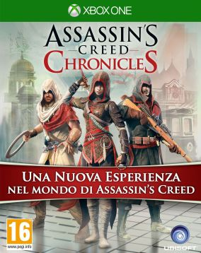 Copertina del gioco Assassin's Creed Chronicles Trilogy Pack per Xbox One