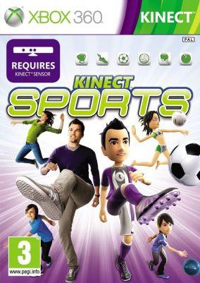 Copertina del gioco Kinect Sports per Xbox 360