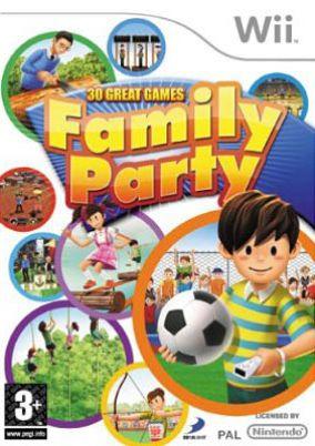 Copertina del gioco Family Party per Nintendo Wii