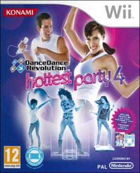Copertina del gioco Dance Dance Revolution Hottest Party 4 per Nintendo Wii