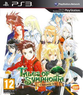 Copertina del gioco Tales of Symphonia Chronicles per Playstation 3