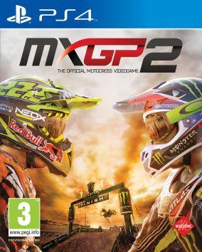 Copertina del gioco MXGP 2: The Official Motocross Videogame per Playstation 4