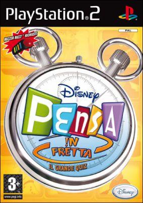 Copertina del gioco Disney Pensa In Fretta per Playstation 2