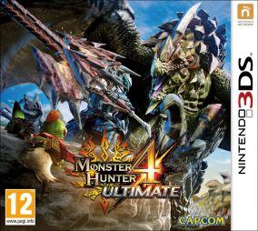 Copertina del gioco Monster Hunter 4 Ultimate per Nintendo 3DS