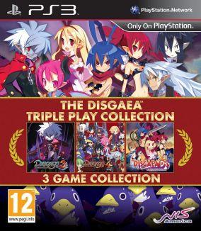 Copertina del gioco The Disgaea Triple Play Collection per Playstation 3