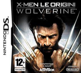 Copertina del gioco X-Men - Le Origini: Wolverine per Nintendo DS