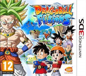 Copertina del gioco Dragon Ball Fusions per Nintendo 3DS