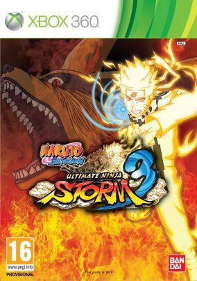 Immagine della copertina del gioco Naruto Shippuden: Ultimate Ninja Storm 3 per Xbox 360