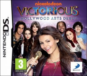 Copertina del gioco Victorious: Hollywood Arts Debut per Nintendo DS