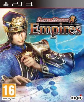 Copertina del gioco Dynasty Warriors 8: Empires per Playstation 3