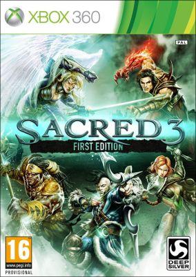 Copertina del gioco Sacred 3 per Xbox 360