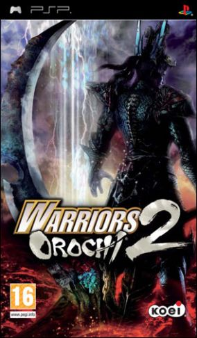 Copertina del gioco Warriors Orochi 2 per Playstation PSP