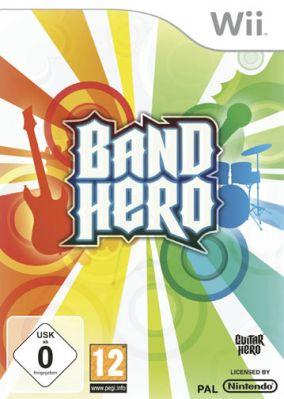 Copertina del gioco Band Hero per Nintendo Wii